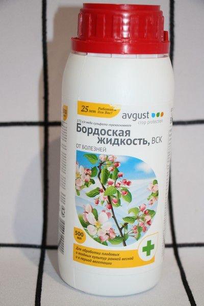 Бордосская жидкость для цветов
