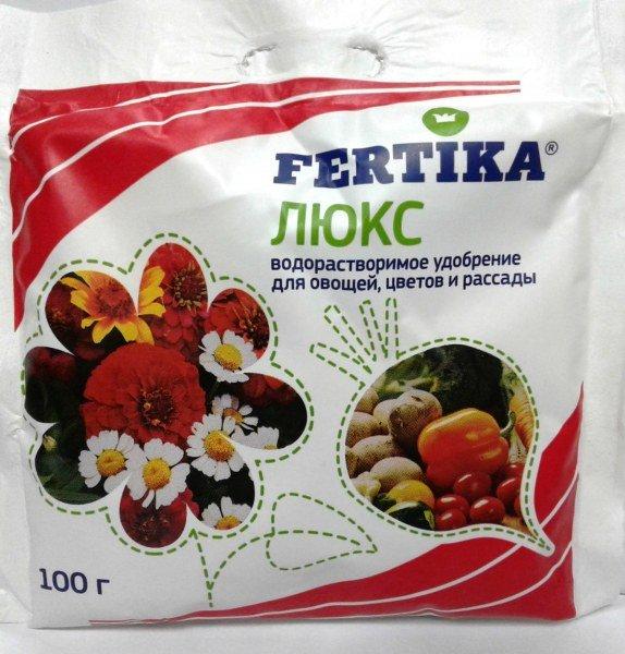 Фертика (Fertika) Люкс - полезное удобрение для сада и огорода, инструкция по применению и отзывы